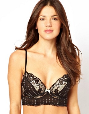 Image 1 ofElle Macpherson Intimates Sultry Dreams Plunge Boost Longline Bra