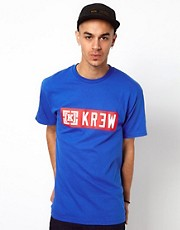 Kr3w T-Shirt Lock Up Block Logo