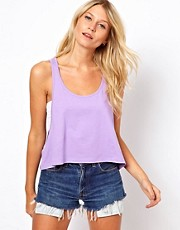 ASOS Cropped Swing Vest