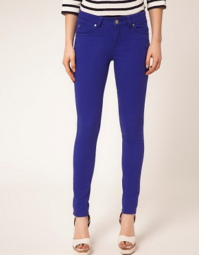 Image 1 ofA Wear Cobalt Skinny Jean