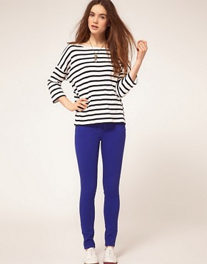Image 4 ofA Wear Cobalt Skinny Jean