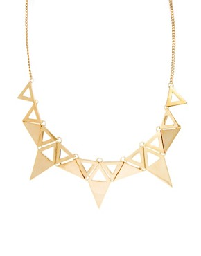 Image 1 ofOasis Triangle Collar Necklace