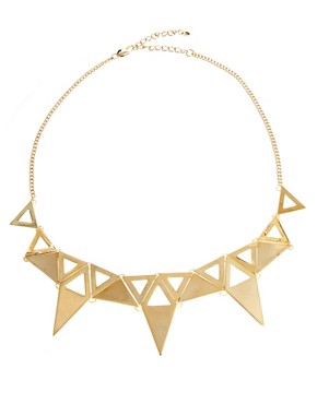 Image 2 ofOasis Triangle Collar Necklace