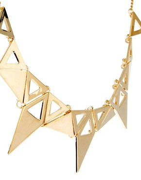 Image 4 ofOasis Triangle Collar Necklace