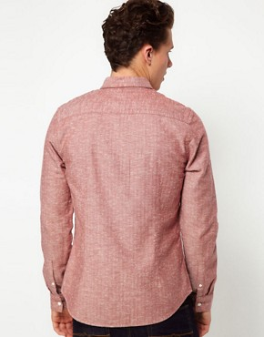 Image 2 ofASOS Shirt In Herringbone