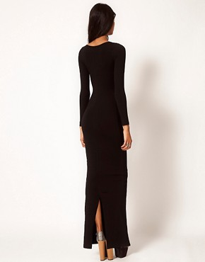 Image 2 ofASOS Maxi Dress with Long Sleeves