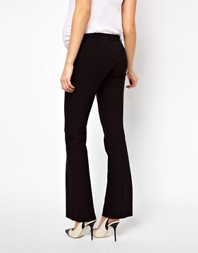 Image 2 ofASOS Maternity Trousers With Kick Flare