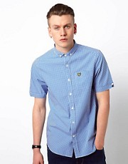 Lyle &amp; Scott Vintage Shirt with Gingham Check