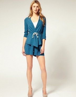 Imagen 4 de Americana con cordn de ASOS