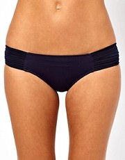 Seafolly Goddess Pleated Hipster Bikini Pant
