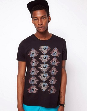Image 1 ofASOS T-Shirt With Mystic Eye Print