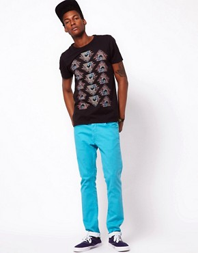 Image 4 ofASOS T-Shirt With Mystic Eye Print