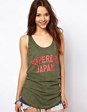 Superdry Scoop Hem Athletic-Vest Top