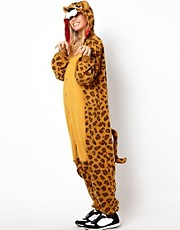 Mono con estampado de leopardo de Kigu