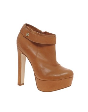 Image 1 ofRiver Island Gertie Platform Ankle Boots