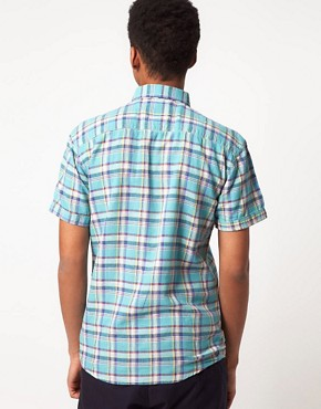 Image 2 ofSelected Clinton Short Sleeve Check Shirt