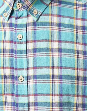 Image 3 ofSelected Clinton Short Sleeve Check Shirt