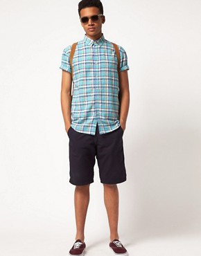 Image 4 ofSelected Clinton Short Sleeve Check Shirt