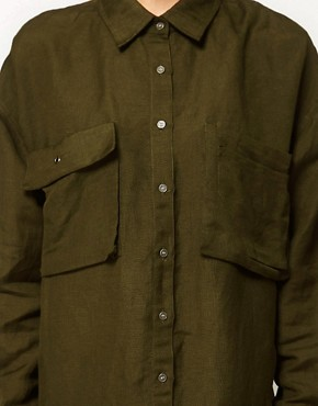 Image 3 ofASOS Military Shirt