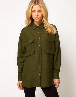 Image 1 ofASOS Military Shirt
