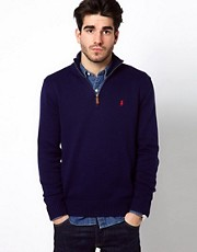 Polo Ralph Lauren - Maglia con mezza zip