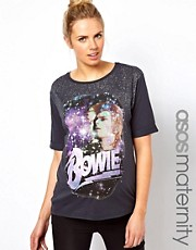 ASOS Maternity T-Shirt With David Bowie Print