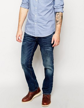 River Island Dean Jeans in Straight Fit