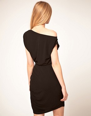 Image 2 ofHalston Heritage Twisted Mini Dress