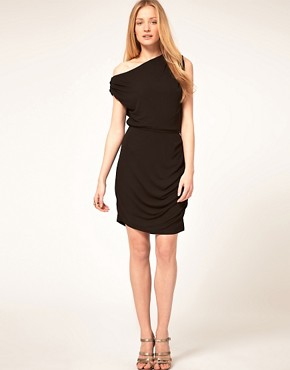 Image 4 ofHalston Heritage Twisted Mini Dress