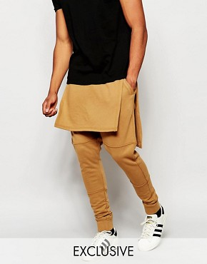 Underated Skinny Joggers With Layering