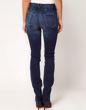 Image 2 ofGoldsign Raya High Rise Cigarette Leg Jeans in Wally