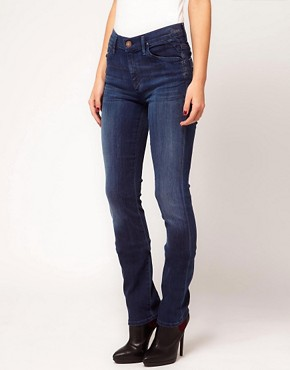 Image 1 ofGoldsign Raya High Rise Cigarette Leg Jeans in Wally