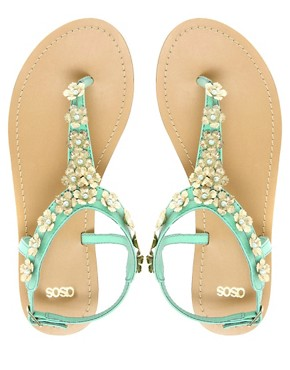 Image 3 ofASOS FETE Flat Sandals