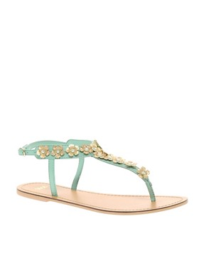 Image 1 ofASOS FETE Flat Sandals