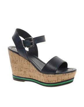 Image 1 ofCarvela Kit Cork Wedge Sandals