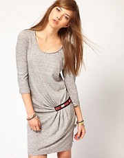 Maison Scotch Jersey Dress with Beaded Detail