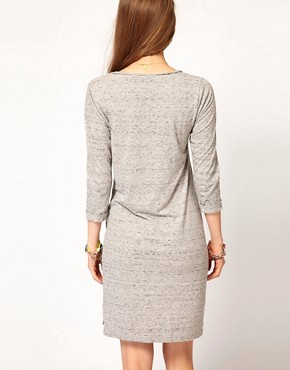Image 2 ofMaison Scotch Jersey Dress with Beaded Detail