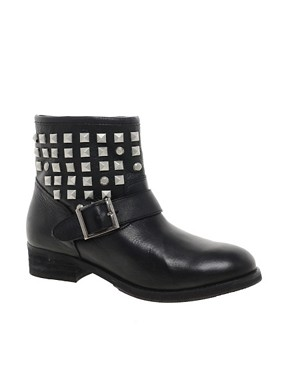 Image 1 ofDune Punkrock Studded Biker Boots