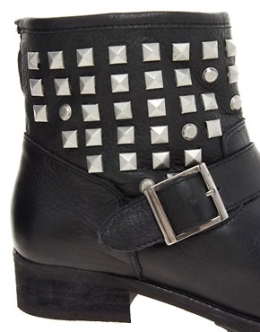 Image 2 ofDune Punkrock Studded Biker Boots