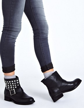 Image 3 ofDune Punkrock Studded Biker Boots