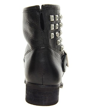 Image 4 ofDune Punkrock Studded Biker Boots