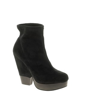 Image 1 ofASOS ADRIANNA Platform Ankle Boots