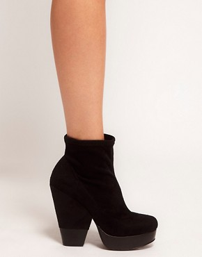 Image 3 ofASOS ADRIANNA Platform Ankle Boots