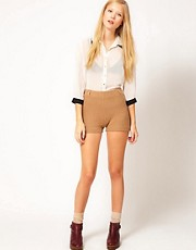 Ganni Aurora Knitted Shorts