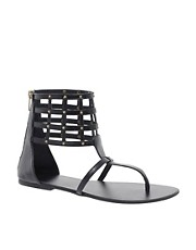 ASOS FUEL Studded Leather Sandals