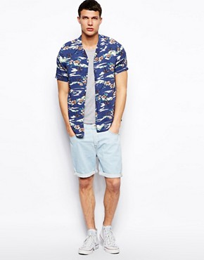 Image 4 ofASOS Denim Shorts