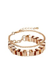 ASOS Box Chain Bracelet Pack