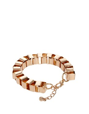 Image 2 ofASOS Box Chain Bracelet Pack