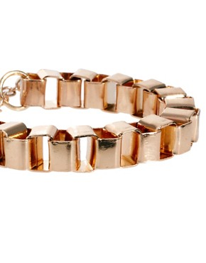 Image 4 ofASOS Box Chain Bracelet Pack
