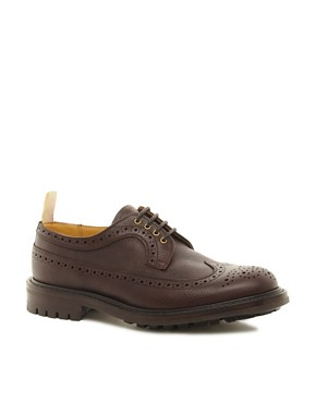 Image 1 ofTrickers Exclusive to ASOS Longwing Brogues